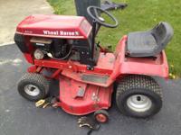 Wheel Horse 211-5 Tractor, 36 inch blade, 11 hp briggs