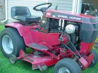 "Toro wheel horse 312-8 excellent conditio, 37"" side"