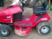 Toro wheelhorse riding mower. 13 hp / 38 inch deck.