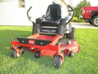 2007 TORO ZERO TURN LAWNMOWER 50 INCH CUT TORO