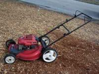 Toro Push Mower - 6.5 HP - Mulcher Works well starts