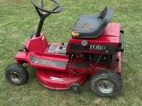 For Sale: Toro Wheel Horse Rear-engine Rider Lawnmower