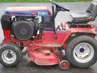 16HP Toro Wheelhorse Tractor - Onan Engine - 8 speed