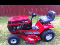 1990 Toro Wheelhorse 210-h riding mower. Really good