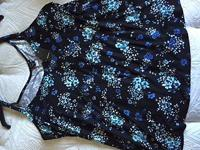 Brand New! Cute and lovely blue floral and gray floral