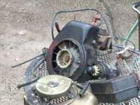 see photo of parts good elect 115 volt starter, torro