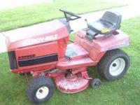 Tory bilt rideing mower. 12 hp Briggs n Strattion, 5
