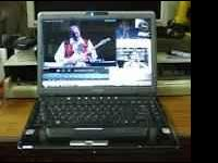 "very good condition toshiba satellite m300 14"" laptop"