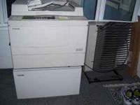 Toshiba 2550 copier with stand, paper sorter, good