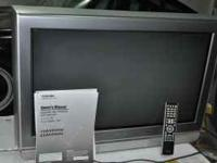 "Toshiba 30"" HD TV. 2005 model. Used lightly for 4 years"