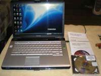 Toshiba A205 S7464 Laptop, Core 2 Duo, 2gb Ram, DVD