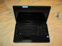 Up for sale is a Toshiba C655-s5208 laptop.  Core
