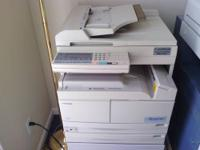 Toshiba Digital Copier, DP-1870F, Auto Document Feeder,