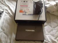 Toshiba Laptop  Model: E-105-S1402  Charger kind of