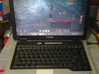Older toshiba laptop 1.8Ghz Intel Centrino 1.5GB RAM