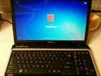 Brand new Toshiba Satellite Laptop. 1750 model. 17 inch