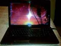 IM SELLING MY TOSHIBA LAPTOP THAT IS ONLY 2 MONTHS OLD.