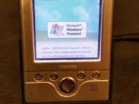 Blast from the past, a fully functioning pocket PC.