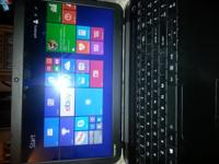 It a C55-B5300 16 inch screen laptop Toshiba. It has a