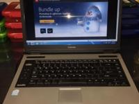 "TOSHIBA SATELLITE 17"" L355 LAPTOP 4GB RAM WINDOWS 7! NO"