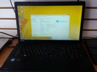 Toshiba Satellite C70-A Laptop for SALE CPU: Intel