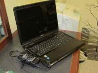 I have for sale a Toshiba Satellite L355D-S7901 Laptop