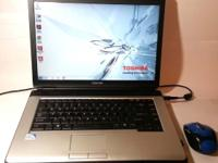 TOSHIBA Satellite Laptop * Win7 * Office * 232 GB HD *