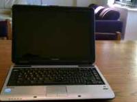 Selling my toshiba satellite laptop in excelent