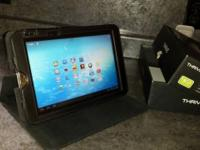 Tablet is packed with functions. 1280 x 800 screen