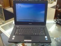 Toshiba Satellite laptop.15.4 widescreen has 60gb sata