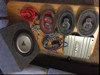 I have a JL audio sub a 2000 watt amp. 2 JL speakers,