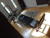 COMPLETE SYSTEM: Folding platform and telescoping squat