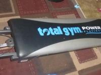 Total Gym Power Platinum + attachments for sale. Asking
