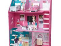 The Totally Me! Make Your Own Dollhouse comes with: 22