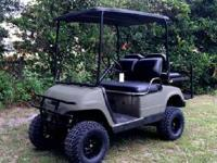 Electric Yamaha Golf Cart Upgraded this year !!