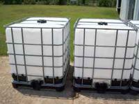 275 Gallon Tanks. $50.00 EACH PERFECT FOR SEPTIC TANKS,