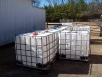 275 gallon DIRTY tote tanks, these can be used for