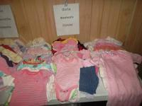 I have all clean no areas, little girl clothing from