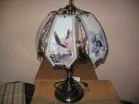 Two touch lamps in great condition. (yes pic only shows