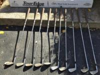 TOUR EDGE GOLF CLUBS. FOR QUICK RESPONSE, PLEASE TEXT