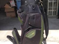 For sale is a used Tour Trek Cart Bag.  It shows