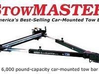 The Stowmaster 5000 fold away design provides the
