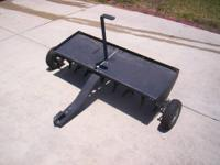 I have a 48 inch tow behind plug aerator for sale. I