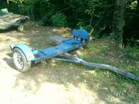 Nice Heavy Duty Tow Dolly to pull your cars home. This