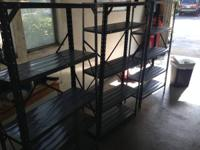 for sale these 4-Shelf Tower Storage Shelves Garage