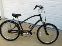 Men's Townie with 8 speed internal hub (no derailed).