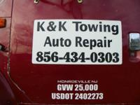 K & K pulling ...$50 tows ... have to be local.(w/in a