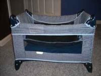 Toy baby crib in good condition. Exact cash only.