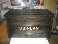 I custom make pine toyboxes with your child's name