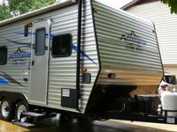 I HAVE A 2008 COACHMEN ADRENALINE BLAST 150mph 18FT